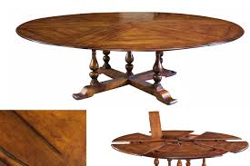 Round Dining Room Table For 10 Jupe Table Extra Large Round Solid Walnut Round Dining Table