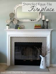 decoration fireplace designs with tile grey ceramic design on