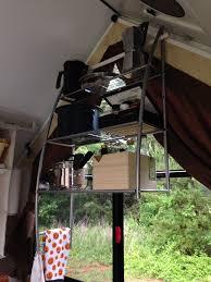 Pop Up Camper Interior Ideas by Shells Above Sink In A Frame Hard Side Pop Up Camper A Frame