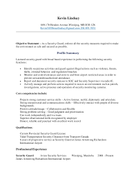 Physical Therapy Resume Sample by Security Officer Resume Kevin Lindsay Security Guard Resume 8