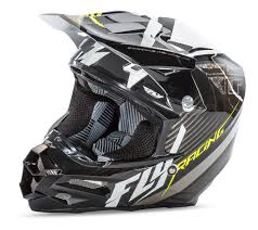 white motocross helmets fly racing f2 carbon fastback helmet revzilla