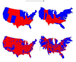 Population Density Map United States by Election Maps Are Telling You Big Lies About Small Things