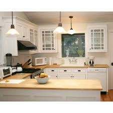 Whole Kitchen Cabinets Shop Q Solutions Company 6 Ft Bamboo Countertop At Lowe U0027s Canada