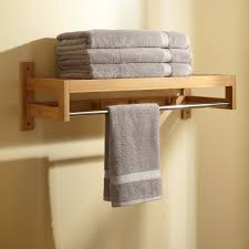 Bathroom Storage Shelves Over Toilet by Bathroom Perfect Solution For Bathroom Storage By Using Towel