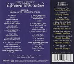tim burton u0027s the nightmare before christmas soundtrack amazon ca