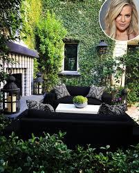 khloe kardashian backyard tour