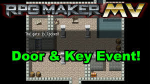 rpg maker mv simple door u0026 key event tutorial youtube