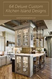 229 best kitchen island ideas images on pinterest kitchen 64 deluxe custom kitchen island designs