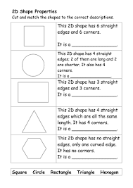 D and  D Shape Worksheets by ehazelden   Teaching Resources   TES TES