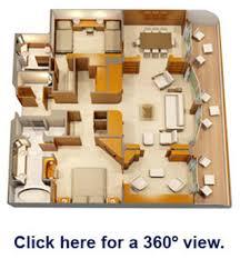 Disney Magic Floor Plan Disney Magic Staterooms Concierge Royal Suite