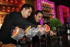 Bartenders para coctelería