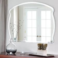 home decoration astounding frameless antique mirrors with