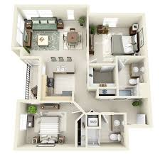 Best  D House Plans Ideas On Pinterest Sims  Houses Layout - Apartment house plans designs