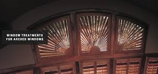 blinds u0026 shutters for arched windows san luis obispo and solvang