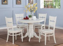 round kitchen table sets for 6 white leather of the dining chairs