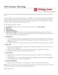 OWL APA Sample Paper