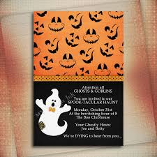 halloween birthday invitation wording u2013 festival collections
