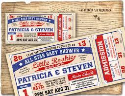 Sport Invitation Card Sports Themed Baby Shower Invitations Wblqual Com