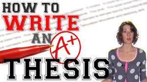 Thesis Statements  Four Steps to a Great Essay     second Recap     YouTube