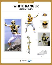 dress like the white ranger costume halloween and cosplay guides