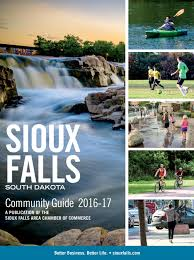 2016 17 sioux falls community guide by sioux falls area chamber of