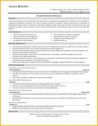 Resume Examples Human Resources Sample Human Resources Manager Resume Strategic Thinker Business