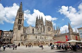 Cathedral plaza in Burgos
