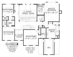 100 colonial house floor plans houseplans com upper floor