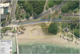 Map Of Waikiki Road Closure Maps For 75th Anniversary Of Pearl Harbor Chamber
