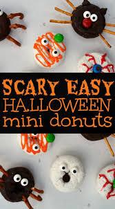 scary easy halloween donuts halloween donuts kid food fun and