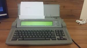 sharp font writer model fw 500 electronic word processor