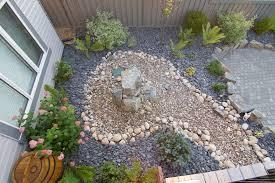 garden rocks pebbles garden