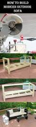 Modern Outdoor Sofa by 10 Insanely Cool Diy Outdoor Furniture Ideas U2013 Diys To Do