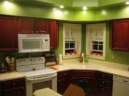 kitchen style fresh mint green kitchen walls color dark brown