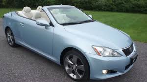 lexus convertible photos 2010 lexus is250c convertible for sale one owner loaded beautiful