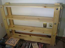 Simple Free Standing Shelf Plans by Cheap Easy Low Waste Bookshelf Plans 5 Steps With Pictures