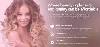 Human Hair Glue In Extensions by Pink Sugar Hair Extensions Edmonton