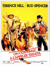 On continue à l'appeler Trinita poster