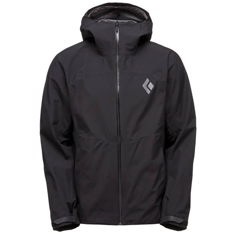 Black Diamond Liquid Point Shell Jacket Black Medium APK849015MED1