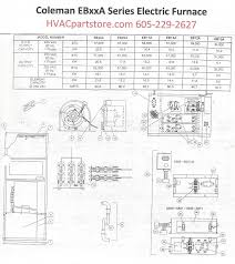eb12a coleman electric furnace parts u2013 hvacpartstore