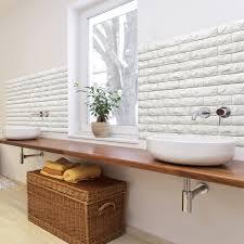 peel u0026 stick 3d wall panels foam block brick design 10 pics 48 4 sq ft