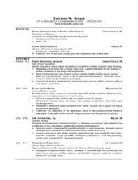 Resume Resume Outline Structure of a curriculum a project of