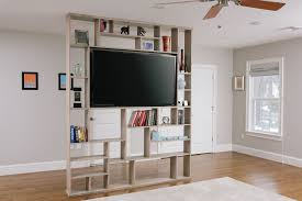 Room Dividers Hand Crafted Lexington Room Divider Bookshelf Tv Stand By Corl