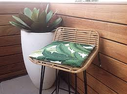 Tommy Bahamas Chairs Chair Pads Palm Leaf Cushions Banana Leaf Outdoor Cushions
