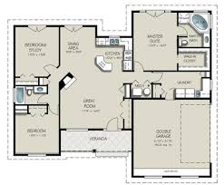 well suited design 1 1500 square foot single story house plans one