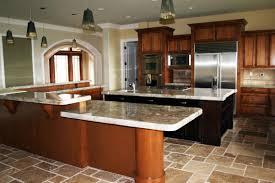great painted kitchen cabinets brick subway tile backsplash ideas