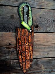 custom made leather chef knife protective sheath holsters and