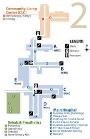 Payson Arizona Map by Facility Campus Map Phoenix Va Health Care System