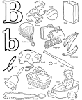 pictures of things that start with the letter b