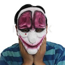 halloween mask costumes payday 2 the heist hoxton mask costume props halloween mask collection